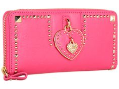 Juicy Couture Zip Wallet Valentine's Day Capsule Passion Pink