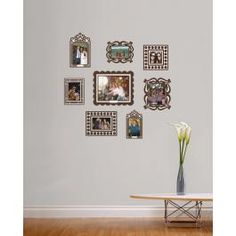 """Size & Contents: (8) Frames Stickers ranging in sizes from 8""""x 10"""" to 4"""" x 4"""""""
