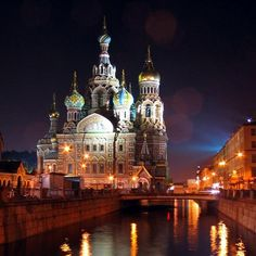 St. Petersburg!!! I'd go back in a heartbeat.
