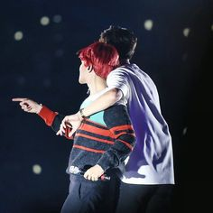 """""""Chanbaek in a nutshell~ ♡ 151010 EXO-Love Dome Concert 