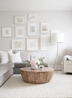 Neutral family living room with sectional and round coffee t-Neutral family living room with sectional and round coffee table. Neutral family living room with sectional and round coffee table. table, OUR FAMILY FRIENDLY LIVING ROOM -