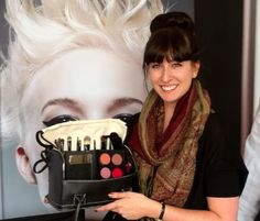 Lydia Edwards shows us how to create a beautiful daytime makeup look and then how to easily turn it into a night time look. — at Paul Mitchell The School.
