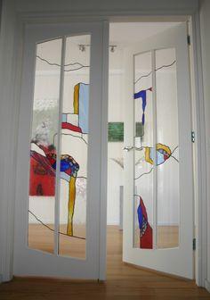 Hall doors in appartment in Leiden Dream Home Design, Home Interior Design, Interior Architecture, Interior And Exterior, Interior Decorating, Interiores Art Deco, Deco Design, House Rooms, Interior Inspiration