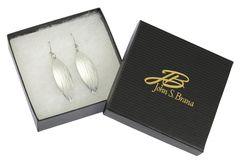 NEW! Fabulous Chased Aluminum Leaf Drop Earrings Offered by #AmazonPrime #Earrings http://www.amazon.com/dp/B01B70D1S4