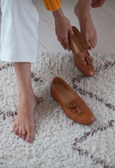 """While Andrea was in LA, wearing our no-name shoe samples, a man came and said """"I love your shoes."""" That man ended up being Steven Alan. He placed a small order and before we knew it we were back in Mexico working on our first collection. - ELISA RESTREPO, APIECE APART WOMAN"""