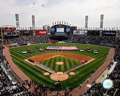 U.S. Cellular Field, Home of the Chicago White Sox.