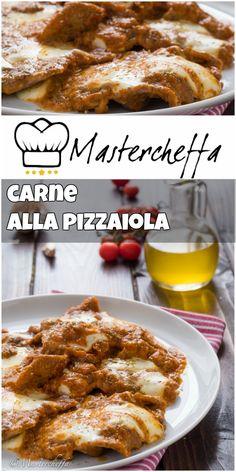 Carne alla pizzaiola - ricetta veloce e gustosa
