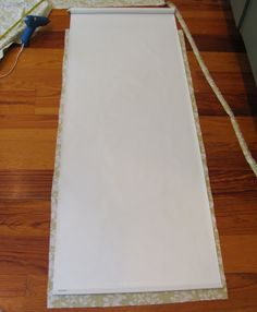 fabric covered roller shades