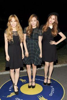 Taeyeon, Tiffany and Seohyun from GIRLS' GENERATION