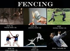Another fencing meme for the half of my kids who fence.