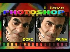 Photoshop tutorial italiano - Come fare caricatura animata in pochi clic - YouTube