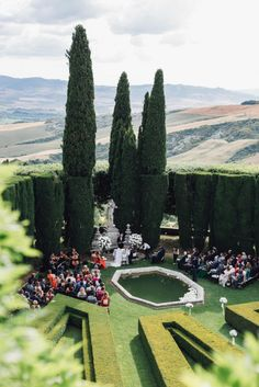 Luxurious Destination Wedding in Tuscany by Stefano Santucci