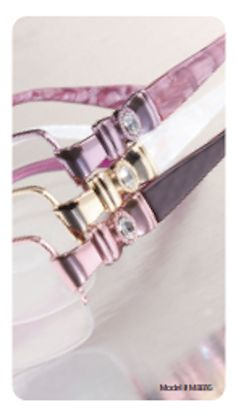 European inspired with Swarovski gems from our Mademoiselle collection - Clariti Eyewear