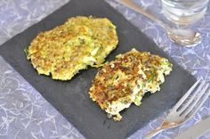 Galettes de quinoa aux courgettes
