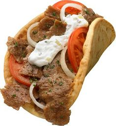 Gyros!! Meat Mixture: 1 lb. ground lamb (or beef) 1/4 cup minced red onion 2 cloves garlic, minced 2 tsp. salt 1 tsp. black pepper 1 1/2 tsp. cumin 1/4 tsp. nutmeg 1 tsp. dried oregano 2 tsp. fresh lemon juice Sandwich: 4 rounds of flat bread or pita. lettuce tomato; sliced Tzatziki Sauce