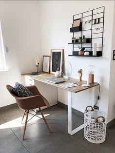 Room Design Bedroom, Room Ideas Bedroom, Home Room Design, Home Office Design, Bedroom Decor, Home Office Setup, Home Office Space, Small Office Decor, Home Office Bedroom