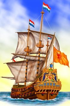 Brederode-  fleet flagship of the Dutch navy during the First Anglo-Dutch War
