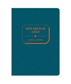 If I could draw I would so get this: One Sketch a Day: A Visual Journey  This notebook encourages you to express yourself through images rather than words. Sketch the stuff that inspires you and note how your talent progresses over time.