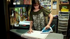 Make your own book cloth by Anna Hawthorne. Tutorial showing how to make book cloth from fabric you have on hand.