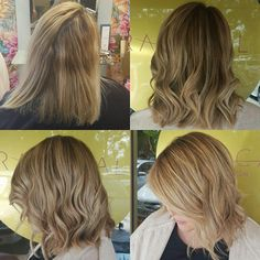 Making Blondes flow - #beforeandafter shot of our take on naturalistic colour work involving blending, freehanding low lights and hightlights and babylights for colour flicker. We also did an intense solo @olaplex treatment to help save the day! Finished off with a fresh #haircut and @cloudninehair waves. #hairbyjesssafajou #theradicalhairdesign #goldenblondes #blondelife #blondes #hairinspo #hairstyle #colourcreation #colourmelt #seamlesscolour #sydneyhairsalons #cloudninehair #olaplexau