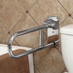 grab bars for bathrooms Bathroom Grab Bars FoldUp