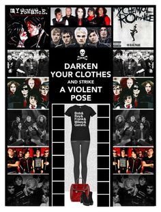 """""""MCR contest (Read D) MY CHEMICAL ROMANCE"""" by irresistible-livingdeadgirl ❤ liked on Polyvore featuring Oris, Topshop, Alexander McQueen, AlexanderMcQueen, emo, topshop and mychemicalromance"""