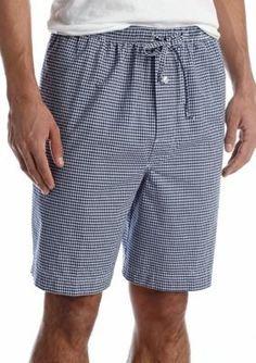 Saddlebred  Gingham Woven Lounge Shorts