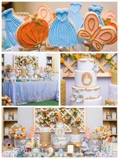Cinderella Birthday Party via Kara's Party Ideas | Party ideas, decor, printables, tutorials, desserts, cake, recipes and more! KarasPartyIdeas.com (3)