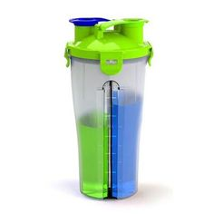 Whey Protein Shaker Mixer Cup Sport Fitness Gym BPA Free Plastic Water Bottle Two Bottle Mouth Freeshipping Protein Shaker Bottle, Shaker Cup, Custom Labels, Water Bottle, Drinks, Whey Protein, Mixer, Creative Ideas, Fitness
