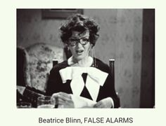 "Played ""Mimi"" in the Three Stooges film, False Alarms. I got distracted watching her adjust her eyeglasses so many times."