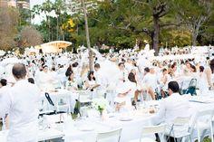 Diner en Blanc, Brisbane - DENTON & LOU