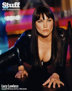 """lupitalover: """"Lucy Lawless For Stuff Magazine """" Lucy Lawless, Beautiful Celebrities, Beautiful Actresses, Beautiful Women, Hollywood Actresses, Actors & Actresses, Mädchen In Uniform, Xena Warrior Princess, Actrices Hollywood"""