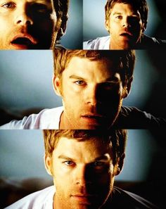 Dexter, OMG he is super sexy:) and not to mention the best serial killer around!