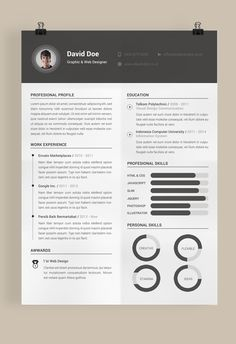 Resumes the best resume template free sample and job description Indesign Resume Template, Online Resume Template, Best Free Resume Templates, Free Professional Resume Template, Resume Design Template, Cv Template, Adobe Indesign, Psd Templates, Adobe Photoshop