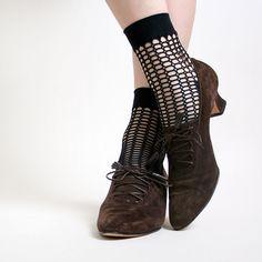 Salvatore Ferragamo Lace Up Witch Shoes