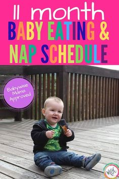 Feeding and sleeping schedule for an 11 month old baby. William is climbing the stairs on his own now, and taking 2 naps. He is crawling everywhere! Newborn Schedule, Baby Feeding Schedule, Baby Sleep Schedule, Toddler Schedule, 11 Month Old Schedule, Baby Solid Food, Food Baby, 11 Month Old Baby, Baby Wise