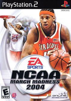 Ncaa March Madness  On The Cover Carmello Anthony