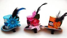 Fun Hair Clips ~ a KIDS CRAFT that is a perfect PARTY HAT and PARTY FAVOR!  Learn how to make them in any color & style on the Petaloo Blog!