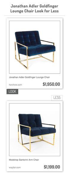 kensington marlow wing chair in bella bayoux jonathan adler goldfinger lounge chair vs modshop santorini arm chair
