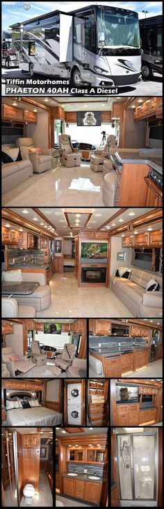 America's favorite motorhome, Tiffin Motorhomes PHAETON 40AH Class A Diesel is consistently ranked among the best-selling Class A models on the market. The Phaeton envelops you in beauty, luxury, and craftsmanship – all at a competitive price point.