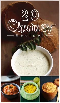 Chutney is a quintessential side dish in Indian cuisine that gives a pleasant jolt to your taste buds and scores big with almost all types of snacks and meals. The aromatic, tangy, savory and sweet taste of the chutney enhances the flavors and turns even Easy Chutney Recipe, Indian Chutney Recipes, Indian Food Recipes, Asian Recipes, Veg Recipes, Vegetarian Recipes, Cooking Recipes, Healthy Recipes, Easy Recipes