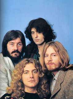 Led Zeppelin. This photo was used as a cover shot on PEOPLE magazine