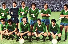 Panathinaikos of Greece team group in 1970s, Gate, Greece, Football, Group, Retro, Sports, Movie Posters, Movies