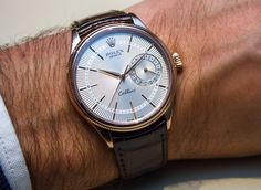 Rolex Cellini Date Watch New For 2014 Hands-On