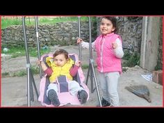 Prenses ve Prens ile Bahçeye Salıncak Kurduk Salıncak Keyfi Yaptılar l Eğlenceli Çocuk Videosu - YouTube