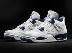 "Air Jordan 4 ""Columbia"" Remastered for 2015"