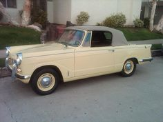 1965 Triumph Herald 1200. Perfect!  Almost bought one :..(
