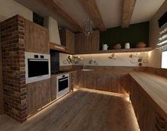 Dom w górach - Kuchnia, styl rustykalny - zdjęcie od Arthome