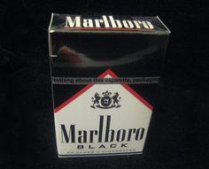 marlboro black cigarettes.....the brand I love