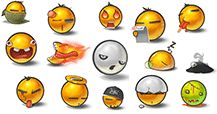 These unique emoticons are far from ordinary